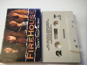 Firehouse-Don-039-t-Treat-Me-Bad-Cassette-1990-Sony-Music