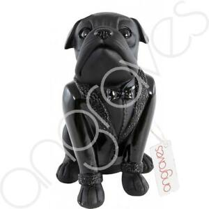 Large Sitting Black and White /& Black French Bulldog Ornament Dog Figurine Gift