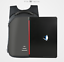 US-Mens-Anti-theft-Laptop-Black-Backpack-USB-Charging-Port-Rucksack-Satchel-Bag miniature 3