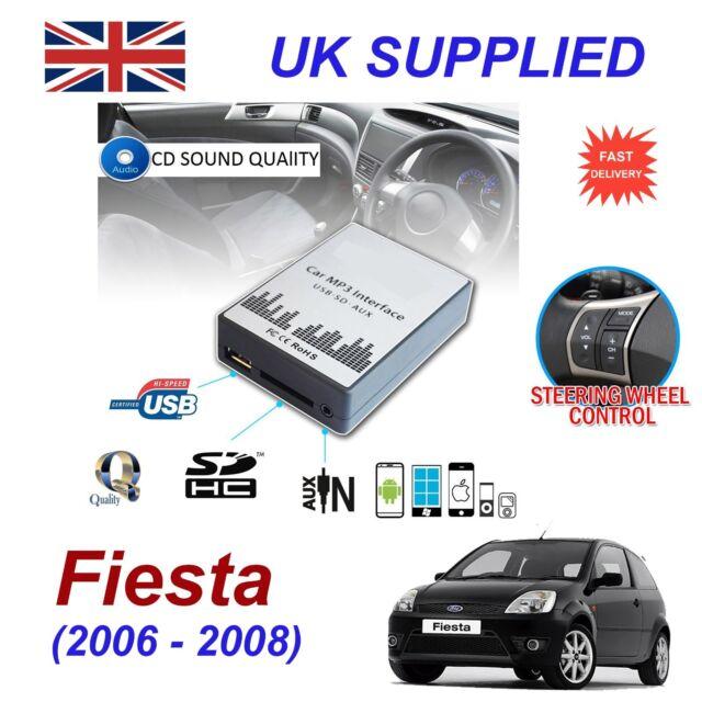 FORD FIESTA MP3 SD USB CD ENTRADA AUX adaptador de audio digital Módulo 40pin