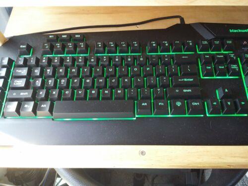 Blackweb Backlit Customizable PC Gaming Keyboard ™ BWA17H004