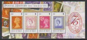 Isle-von-Mann-2001-Qe-II-75th-Geburtstag-Blatt-MNH-Sg-MS935