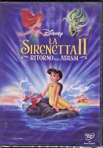DVD-Disney-el-Sirenita-2-II-Ritorno-a-Abismo-Nuevo-2000