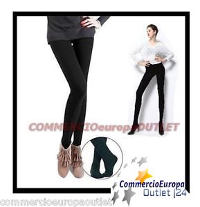 LEGGINGS-COTONE-felpate-invernale-donna-pantacollant-caldo-calzamaglia