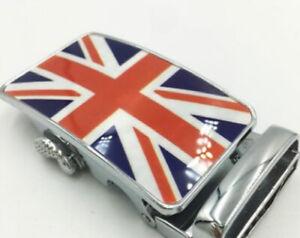 UK MENS DESIGNER DIAMONDS AUTOMATIC RATCHET BELT BUCKLE ONLY FOR MEN NEW AUTO