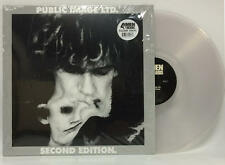 Public Image Ltd Second Edition 2x CLEAR VINYL LP Record sex pistols dance punk!