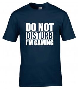 Do Not Disturb Kids Boys Girls Gamer T-Shirt Gaming Tee Top