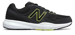 New-Balance-Male-Homme-517-Quix-Technology-formateur-Adulte-Chaussures-Noir-Avec-Jaune