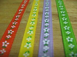 Travailleur 3 M Fixation Dekoband Stoffband Fleurs Litière Fleur Vert Lilas-afficher Le Titre D'origine DéLicieux Dans Le GoûT