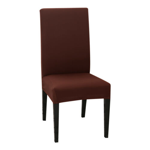 1x Elastic Dining Chair Covers Slipcovers Kitchen Chair Protective Removable