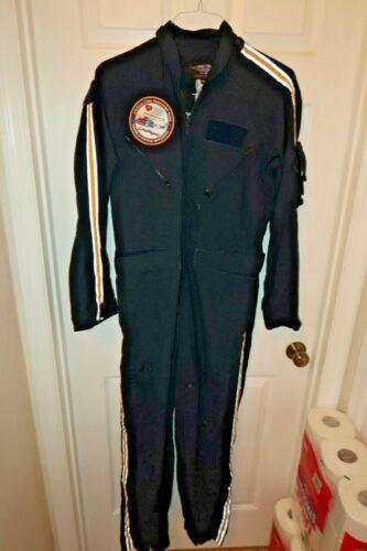 80s 90s vintage Venezuelan pilot uniform flight suit