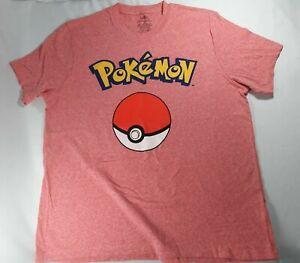 c84c8f90 Pokemon Big Pokeball Logo Men's XL Short Sleeve T Shirt New | eBay