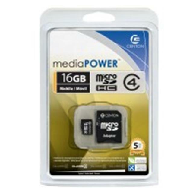 Centon S1-MSDHC4-16G Micro SDHC 16GB Class 4 Flash Memory Cards