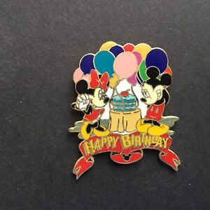 Hong-Kong-HKDL-Happy-Birthday-Mickey-amp-Minnie-Mouse-Disney-Pin-3982
