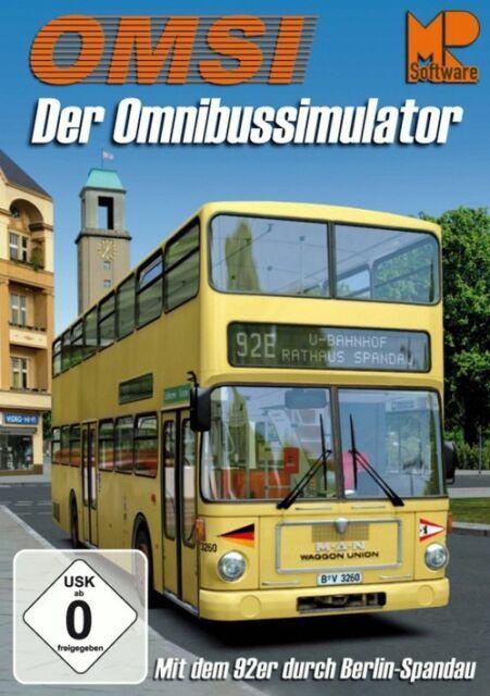 OMSI der Omnibussimulator: Mit dem 92er durch Berlin-Spandau!