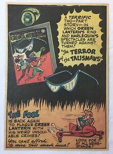 1948 DC comics ad page ~ GREEN LANTERN #31