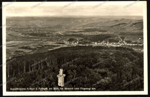 Foto-AK-Kernen-Aussichts-Turm-Fellbach-Remstal-Schwäbischer-Albverein-Stuttgart