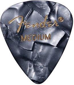 Fender 351 Premium Celluloid Guitar Picks 1 Dozen HEAVY OCEAN TURQ 12-Pack