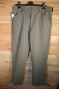 ab140b242f1a81 BNWT Men's Moleskin Country Flat Front Straight Cut Trousers by John ...