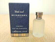 Weekend for Men Burberry for men 5ml EDT MINI MINIATURE PERFUME FRAGRANCE