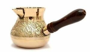 Metal Brass Turkish Kettle for Making Tea Coffee Pot