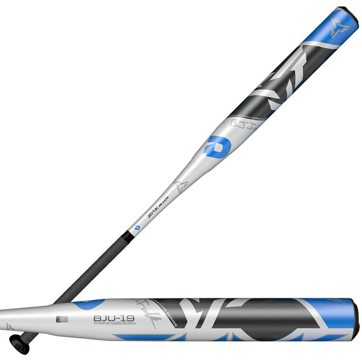 NEW 2019 DEMARINI BJ FULK USSSA COMPOSITE SLOW PITCH BAT 26 OR 27 OZ.