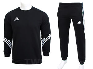 ADIDAS-FLEECE-TRACKSUIT-SWEATER-SWEATSHIRT-JOGGERS-JOGGING-BOTTOMS-SWEATPANTS