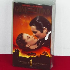 Gone-With-The-Wind-NIB-VHS-Movie-Two-Pack-Vivian-Leigh-Clark-Gable-Scarlett