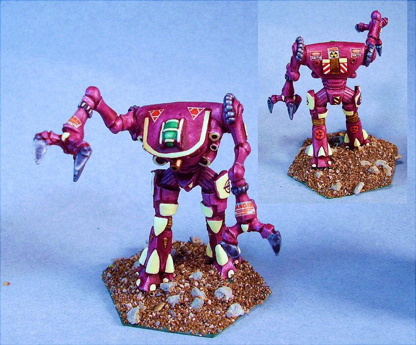 Battletech painted Mantis battlemech MWC