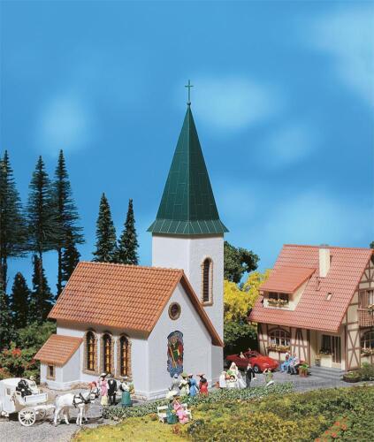 Faller 130240 h0 aldea iglesia #neu en OVP #
