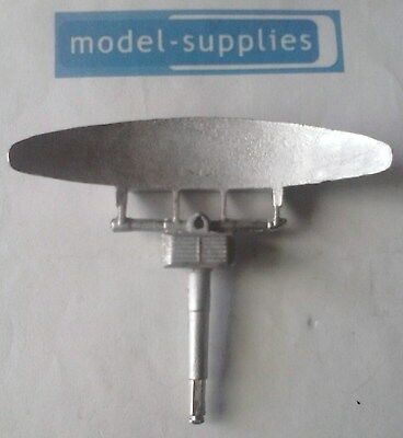 1106 Radar dish reproduction white metal dish assembly Corgi 353
