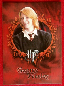 HARRY-POTTER-amp-GOBLET-OF-FIRE-Card-13-GEORGE-WEASLEY-CARDS-INC-2005