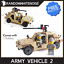 Army-Tank-Vehicles-1711-Panzer-USA-German-Building-Block-Toy-Compatible-Jeep-Kid thumbnail 8