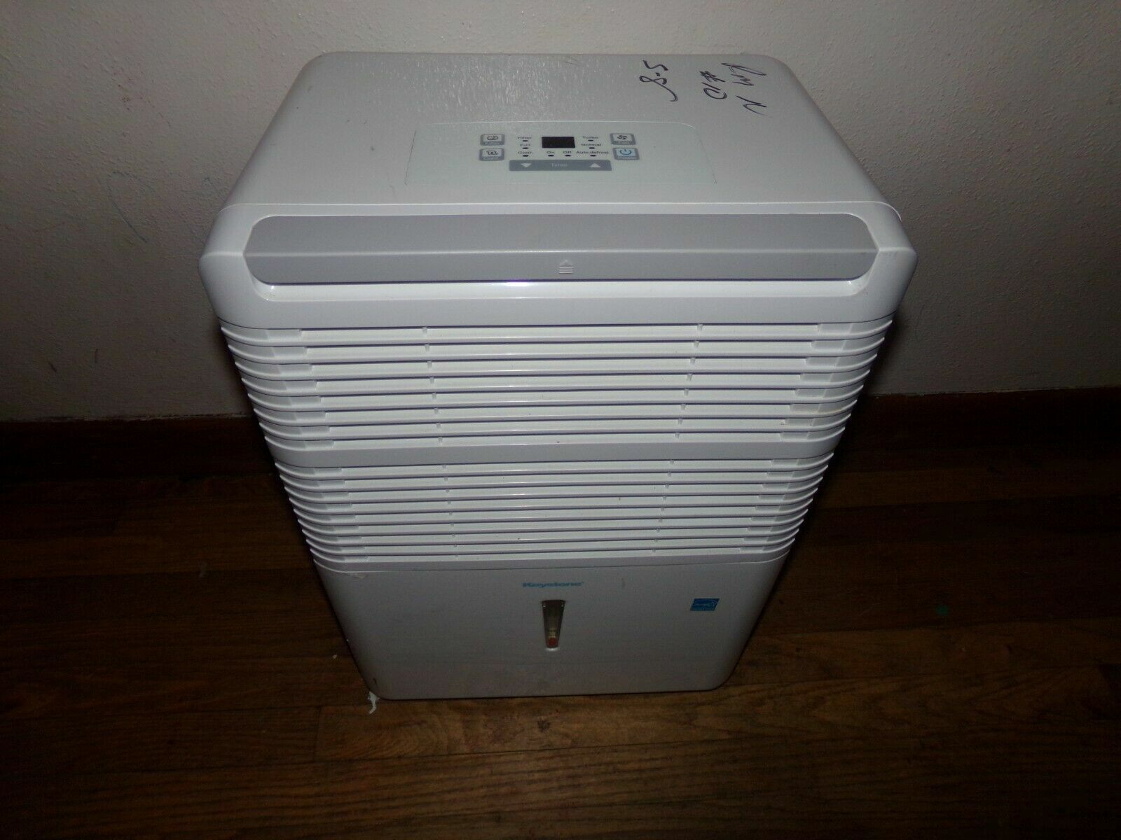 Keystone KSTAD706PB 15 Inch Wide 70 Pint Freestanding Dehumidifier with Built In