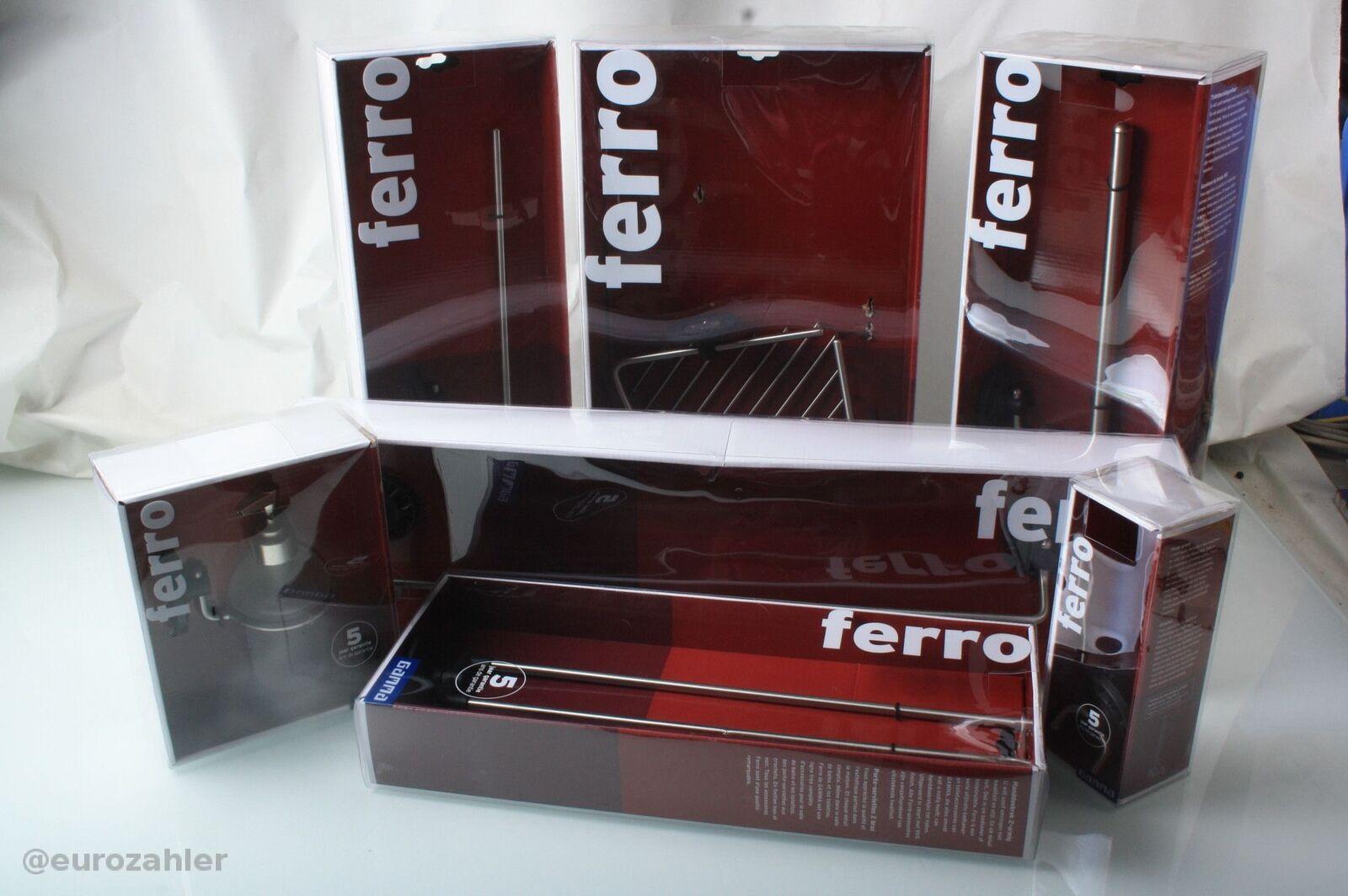 Gamma ferro Konvolut Bad Set 7er Set Neu OVP   Up-to-date Styling
