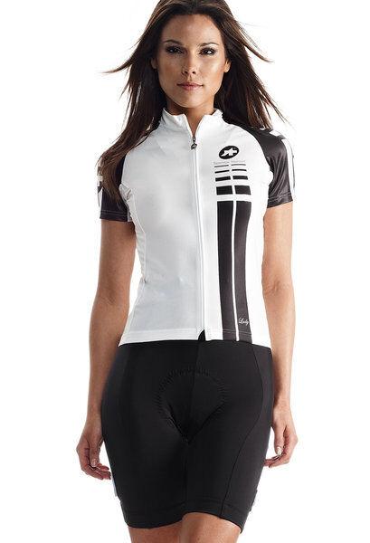New Weiß Assos SS.lady jersey Größe Large