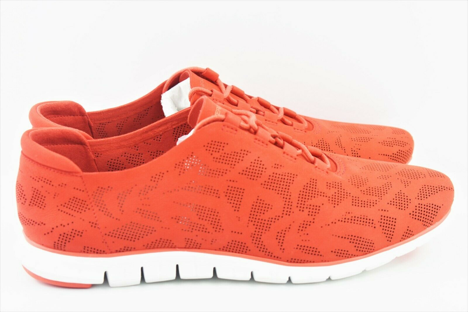 Cole Haan Zerogrand Womens Size 11 Perforated Trainer shoes Nubuck Red W04685