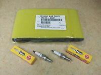 Kawasaki Air Filter + 2 Ngk Cr7e Spark Plugs Tune Up Kit Brute Force 650 750