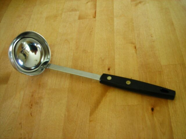 Made in USA Vintage ECKO FORGE Stainless Ladle