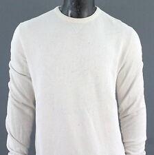 SUPERDRY Herren Gr. XL Sweatshirt Pullover Langarm HOODIE Beige A553