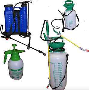 2l 5l 8l 18l litre pump pressure knapsack sprayer spray kill weeds insect garden ebay. Black Bedroom Furniture Sets. Home Design Ideas