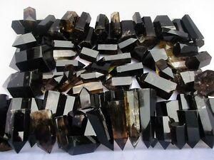 1LB-Natural-Smoky-CITRINE-Quartz-Crystal-Point-Madagascar-Polished