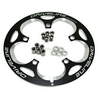 Driveline Crank Chain Guard Road Bike 56t Bcd 130 Black Cycling
