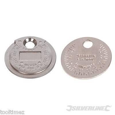 "0.5 - 2.55mm / 0.02 - 0.1"" Spark Plug Gap Gauge Tool 202148"