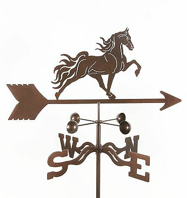 Antique Look Tennessee Walker Horse Weathervane w// Choice of Mount Vane