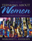 Thinking About Women: Sociological Perspectives on Sex and Gender by Margaret L. Andersen (Paperback, 2014)