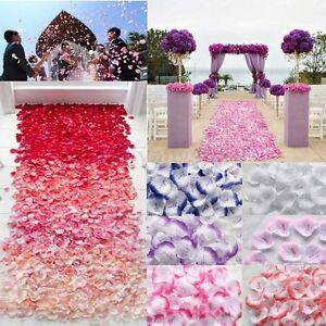 1001000 x love silk flower rose petals home wedding party confetti image is loading 100 1000 x love silk flower rose petals mightylinksfo