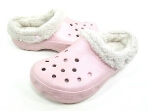 a265db93aaaf Image is loading CROCS-KIDS-039-MAMMOTH-SHEARLING-SLIP-ON-COTTON-