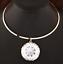 Bib-Pendant-Choker-Gold-Silver-Huge-Large-Clear-Gem-Crystal-Rhinestone-Necklace thumbnail 3