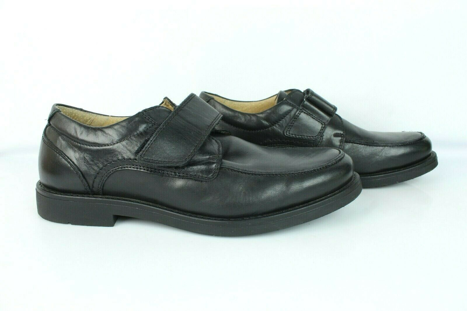 Mocassin G Club Black Leather T 42/UK 8 Very Good Condition